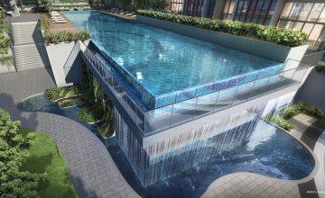 The Gazania 50m Lap Pool Water_Wall