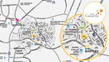 The Gazania location 2